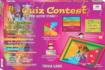 Happy Kidz Happy Kidz Brainy Quiz Contest