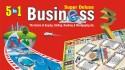 Yash Toys YT 5 In 1 Super Deluxe Business Board Game