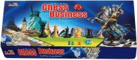 Surya Combo Set Of Chess & Business Indoor Game Board Game