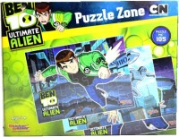 Sticker Bazaar Offically Licensed- Board Game Of Ben 10 Ultimate Puzzel Zone Board Game