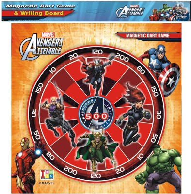 iToys Board Games iToys Metallic Dart & Writing Avengers Board Game