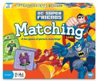 Wonder Forge Super Friends Matching Board Game