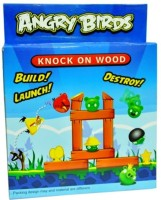 Turban Toys Angry Bird Knock On Wood Build, Launch And Destroy Board Game