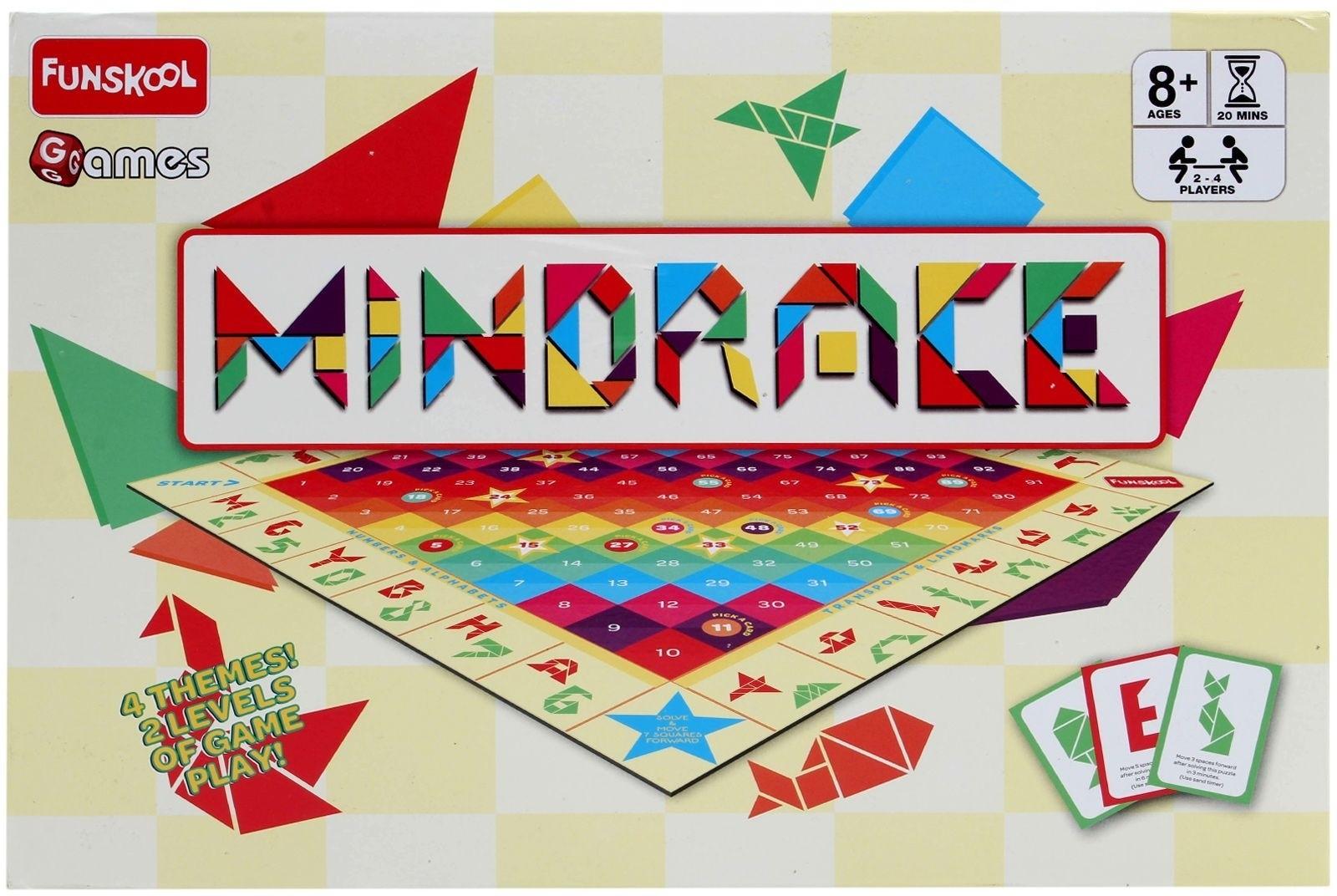 Kiddie Diwali Party Double Lively Double Fun: 10% OFF On Funskool Mindrace Board Game On Flipkart