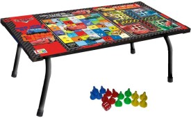 Disney Pixar-Cars Multipurpose Table with 16 Plastic Pawns & 1 Dice Board Game