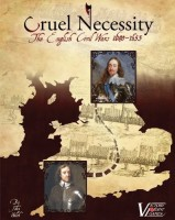 Victory Point Games Cruel Necessity English Civil Wars Historical Boxed Board Game