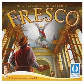 Queen Games Fresco With Expansion 1 2 3 Board Game