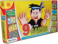 Sun Enterprises 9 In One Board Game