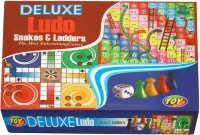 Surya Combo Set Of Ludo With Snake & Ladders Board Game