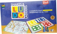 Lotus Applefun 2 In 1 Ludo Board Game