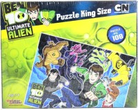 Sticker Bazaar Offically Licensed- Board Game Of Ben 10 Ultimate Puzzel King Size Board Game