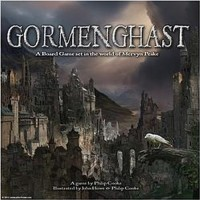The Overlook Press Gormenghast The A Set In The World Of Mervyn Peake Board Game