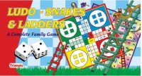 Triangle Ludo Snakes And Ladders Board Game