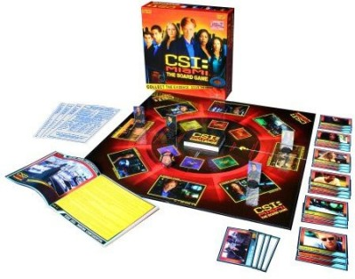 Specialty Board Games Csi Miami The Board Game