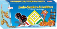 Triangle Ludo Snakes And Ladders Big Size Board Game