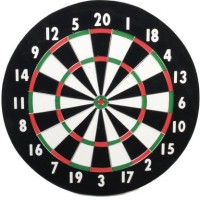 Classic Game Collection Classic Old English Style 18 Inch Double Sided Dart + 6 Board Game