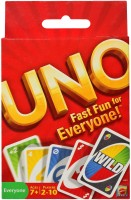 Mattel Games UNO Fast Fun for Everyone: Card Game
