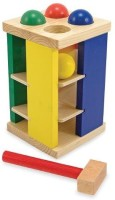 Melissa & Doug Deluxe Pound And Roll Tower Board Game