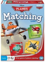 Wonder Forge Planes Matching Memory Board Game