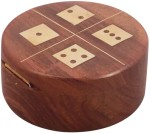 Crafts'man Board Games Crafts'man Handcrafted In Round Dice Set Board Game