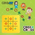 Ecojoy Criss Cross Board Game