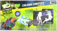 Sticker Bazaar Offically Licensed- Board Game Of Ben 10 Ultimate Colour Set Board Game