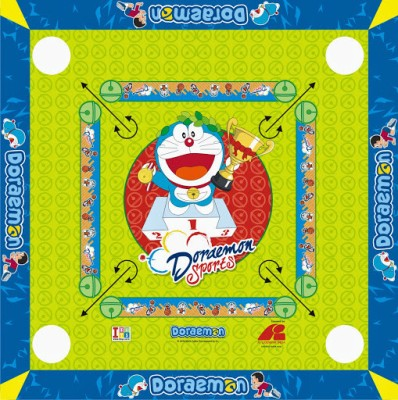 Doraemon 2 in 1 Carrom Board and Ludo itoysboard0021 Board Game