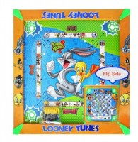 Kreative Kids 2 In 1 Carrom (20 Inch) - Looney Tunes Board Game