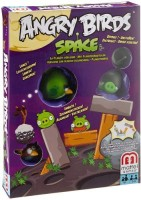 Mattel Angry Birds Space Planet Block Board Game