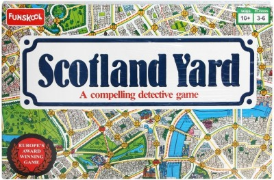 Buy Funskool Scotland Yard Board Game: Board Game
