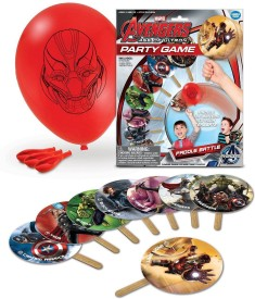 Avengers Balloon Paddle Battle Party Board Game