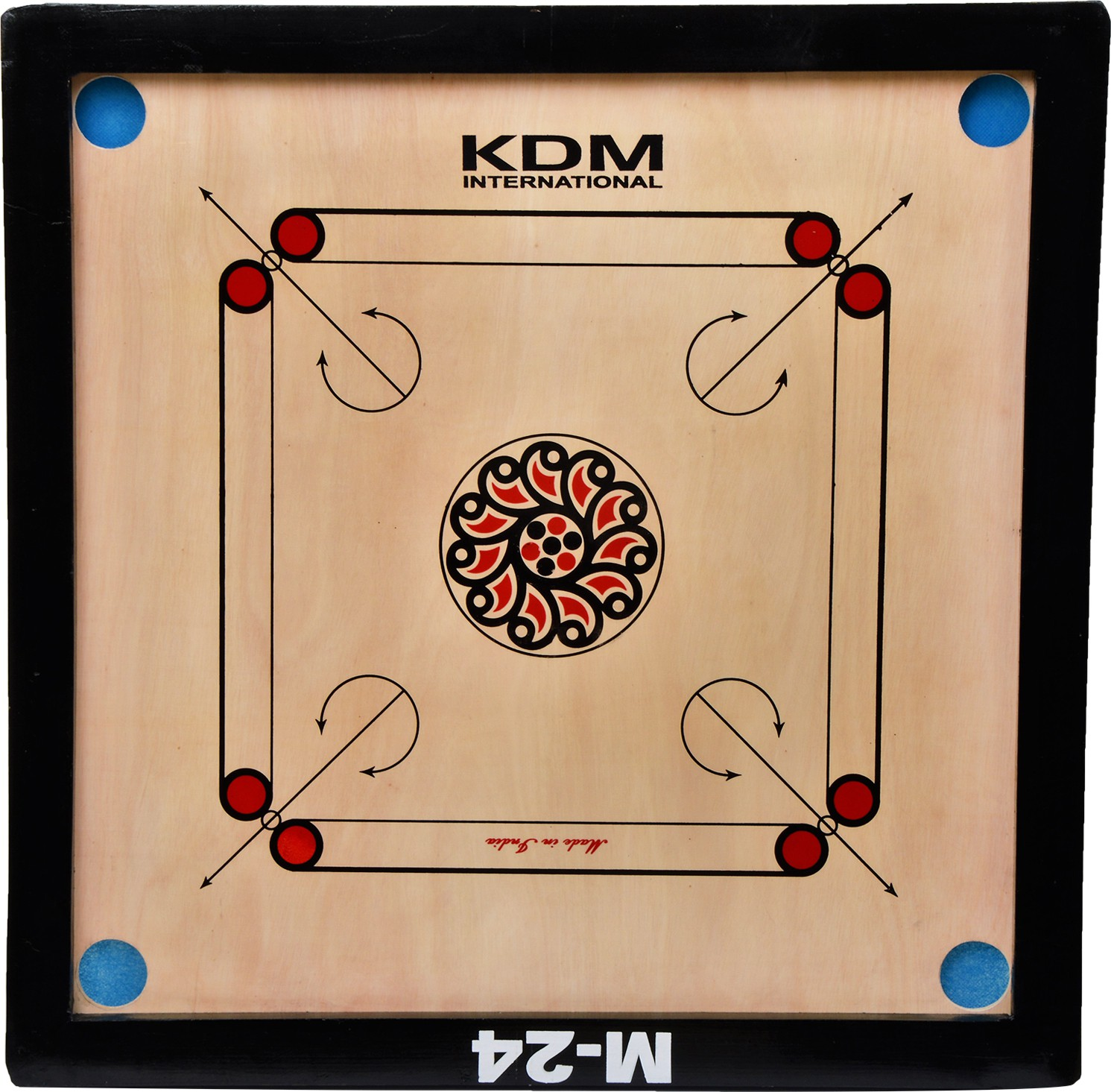 KDM SPORTS M 24 26 inch Carrom Board available at Flipkart for Rs.999