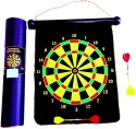 Tennex Magnetic Dart Board T-001 38 Cm Dart Board - Black, Yellow
