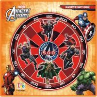 Disney Marvel Avengers Metallic Dart Gamme & Write-Wipe Whiteboard 12 Inch Dart Board (Multicolor)