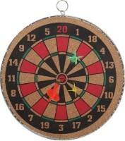 VSM Dual Side 16 Inch Dart Board (Brown)