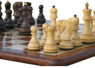 Buy Chessbazaar Rose Wood Set Chess Board: Board
