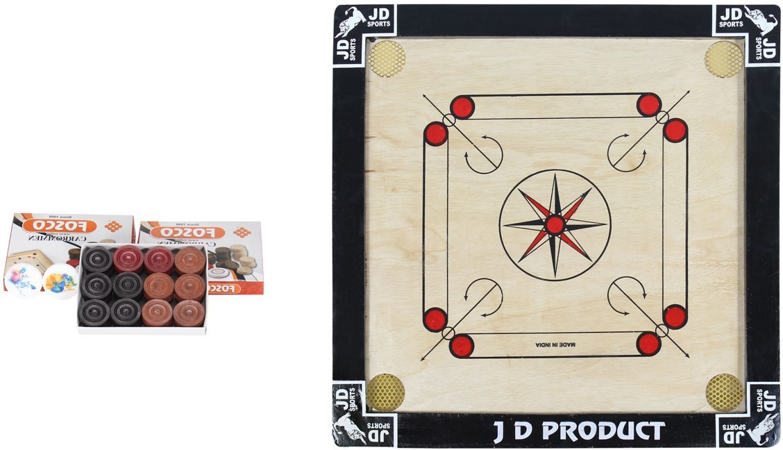 JD Sports jd product small 1.5 inch Carrom Board available at Flipkart for Rs.650