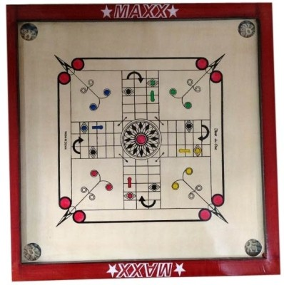 Vikang 26 Inch 75 cm Carrom Board Multicolor