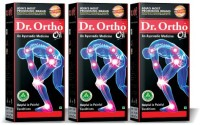 Dr Ortho Ayurvedic Complete Joint Pain Oil 120ML (Pack Of 3) Oil (360 Ml)