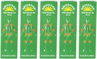 Amivahan Pain Relief Oil, 50ml (Pack Of 5) Oil (50 Ml)