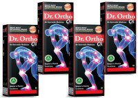 Dr Ortho Ayurvedic Joint Pain Oil (Pack Of 4) 120ml Oil (120 Ml)