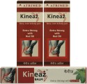 Atrimed Kineaz Liniment & Balm For Bone, Joint & Body Pain Combo Set(Set Of 3) Oil - 120 Ml