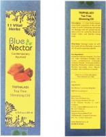 Blue Nectar Triphaladi Ayurvedic Herbal Anti Cellulite Body Shaping Body Toning Slimming Oil (200 Ml)