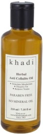 Khadi Herbal Anti Cellulite Oil (paraben Free) (210 Ml)