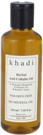 Khadi Herbal Anti Cellulite Oil (Paraben Free) (210 Ml)