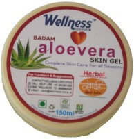 Nature Wellness Badam Aloevera Skin Gel (150 Ml)