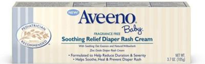 Aveeno Baby Soothing Relief Diaper Rash Cream - 105 Gm
