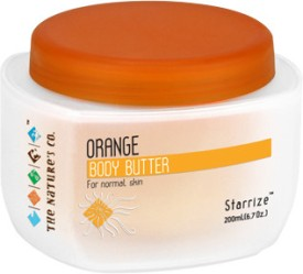 The Nature's Co Orange Body - Butter - 200 Ml