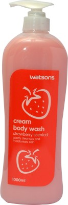 Watsons Strawberry Scented Cream Body Wash