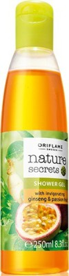 Oriflame Sweden Nature Secrets Shower Gel with invigorating Ginseng & Passion fruit